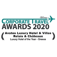 CORPORATE TRAVEL AWARDS 2020-LUXURY HOTEL OF THE YEAR IN GREECE